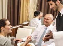 camarero restaurante