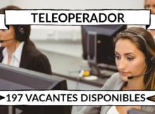 1.074 ofertas de trabajo de TELEOPERADOR encontradas