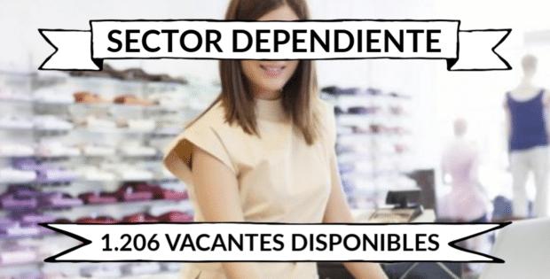 1.206 ofertas de trabajo de DEPENDIENTE encontradas