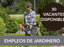 TRABAJOS DISPONIBLES DE JARDINERO