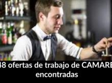 1.148 ofertas de trabajo de CAMAREROencontradas