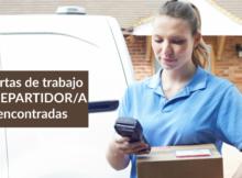 Ofertas de trabajo de REPARTIDOR/A encontradas