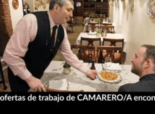 1.107 ofertas de trabajo de CAMARERO/A encontradas