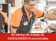 20 ofertas de trabajo de GASOLINERO/A encontradas
